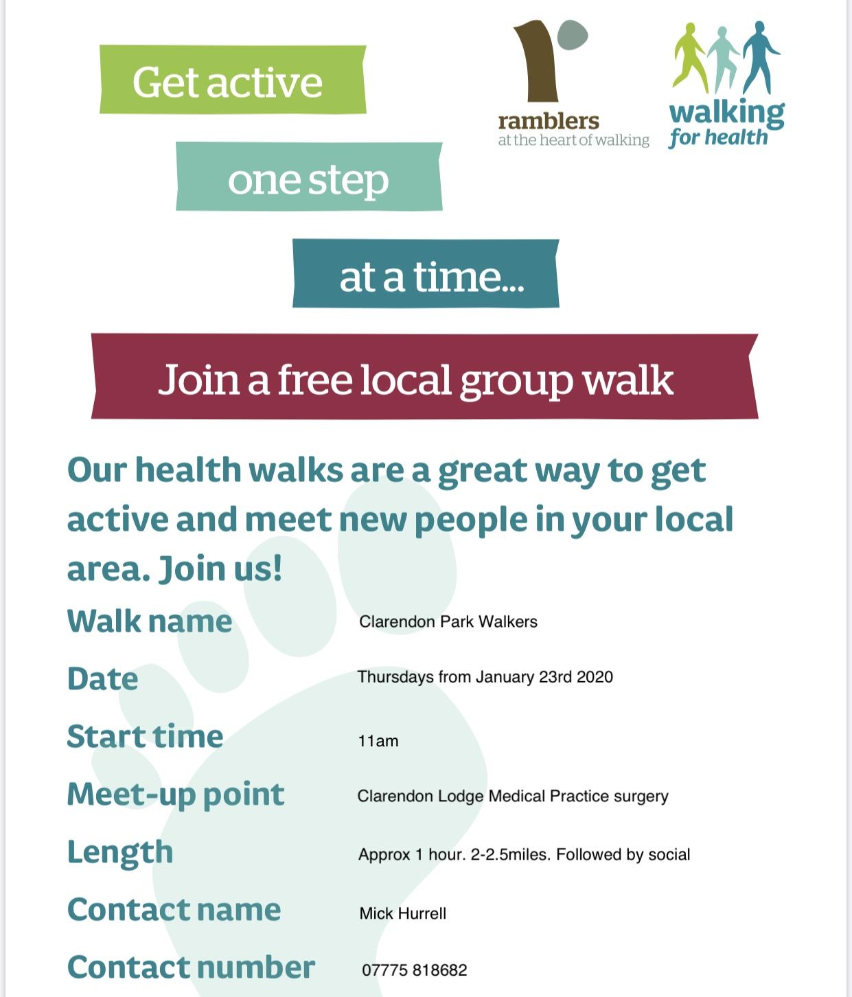 Walks for health