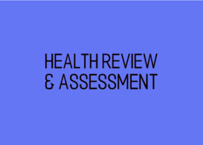 Health review and assessment