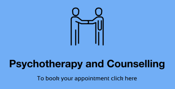 Talking therapy appointment click here