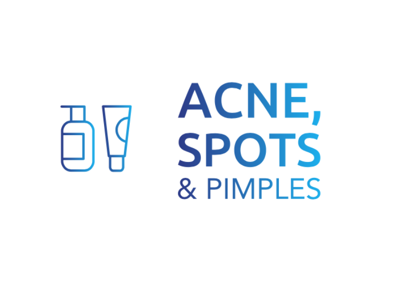 acne, spots and pimples