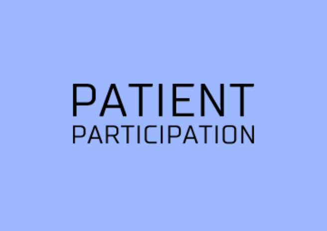 PATIENT PARTICIPATION