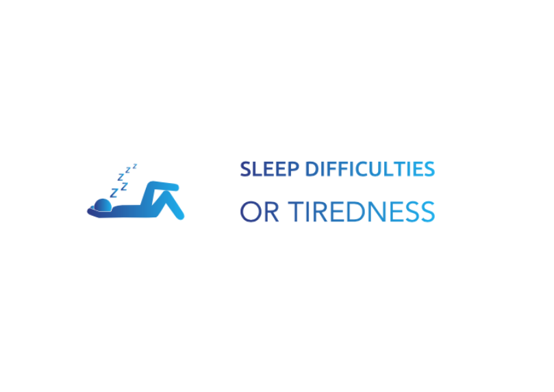 Sleep difficulties or Tiredness
