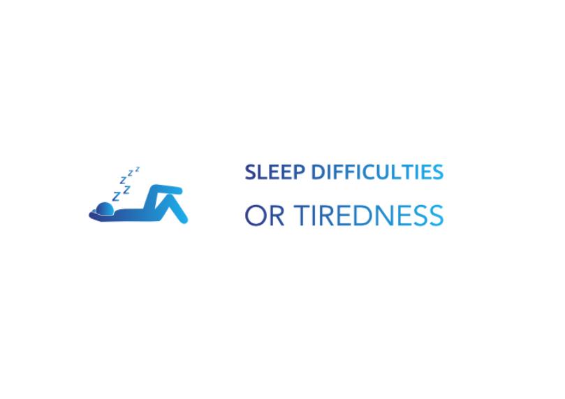 Sleep difficulties or Tiredness